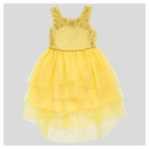 Disney Yellow Beauty and the Beast Belle Dress